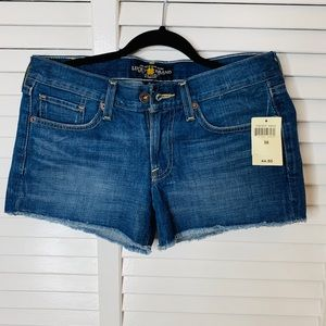 "Lucky Brand ""The Cut Off"" Jean Shorts"